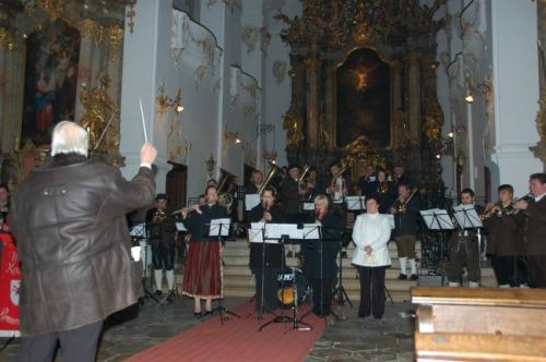 Kirchenkonzert Bergen 2009