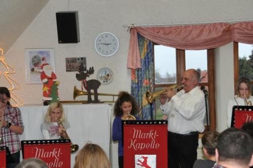 Weihnachtsfeier der Jungmusikanten 2011